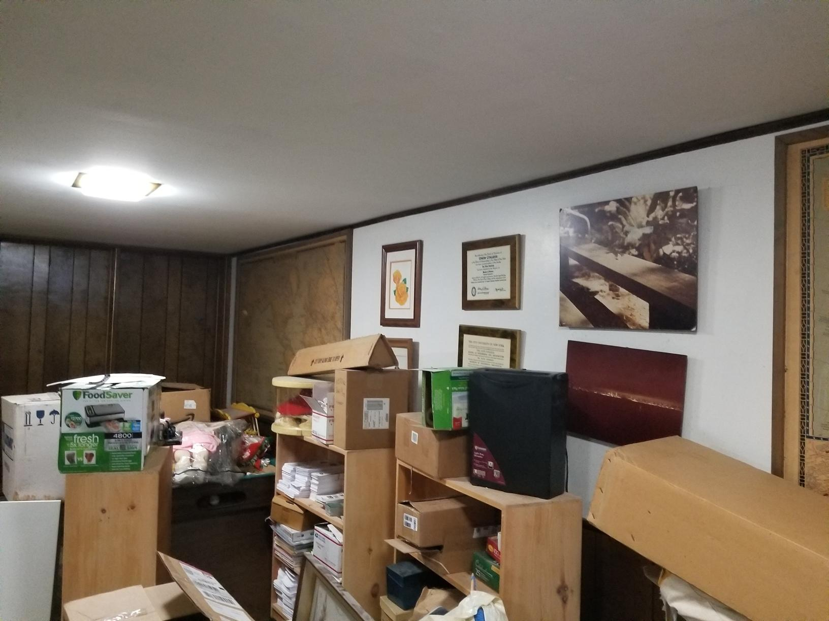 Wall Restoration - Before Photo