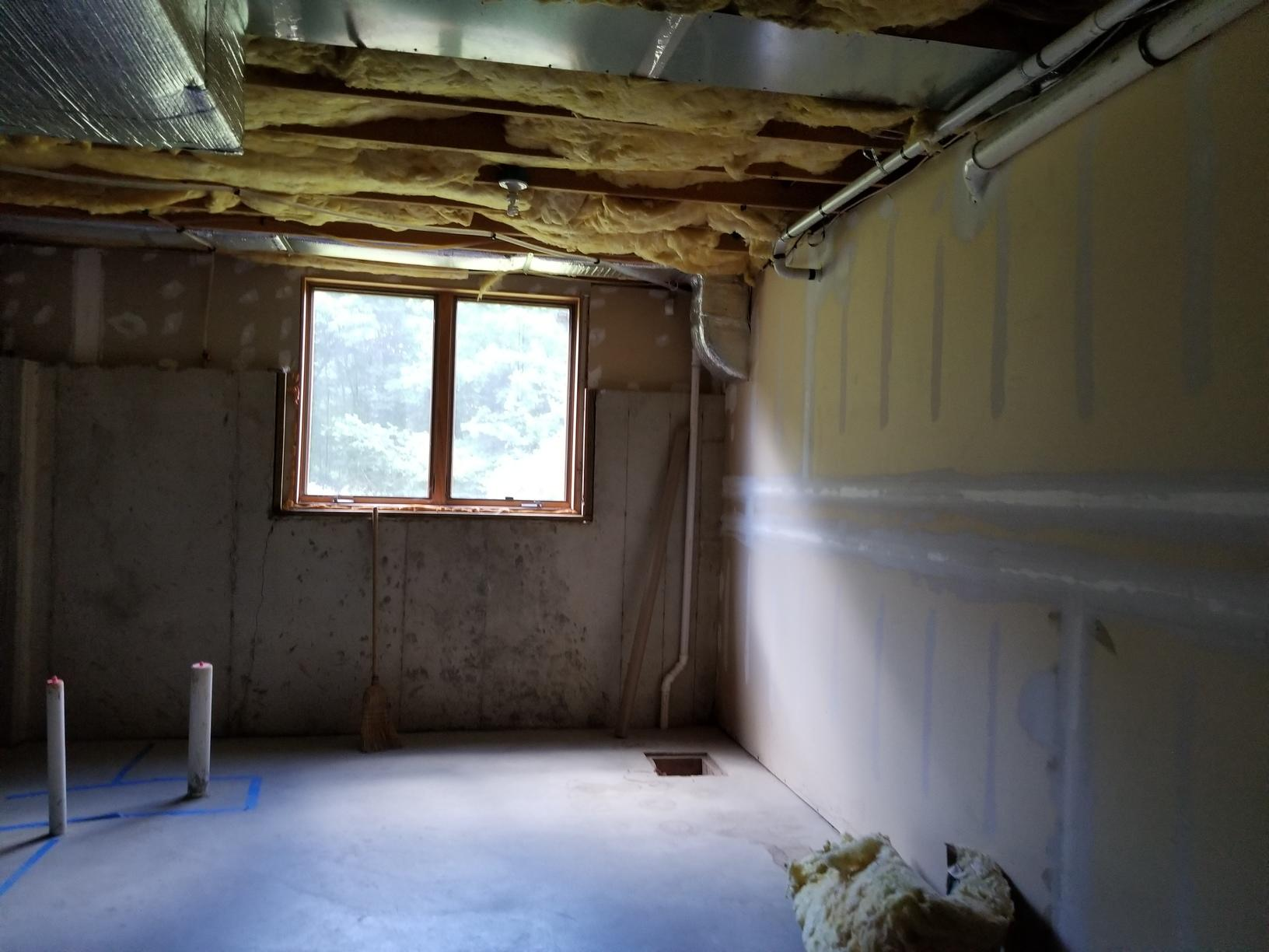 Basement Finishing in Middletown, NY - Before Photo