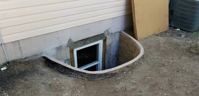 Egress Window in Circleville, NY. - After Photo