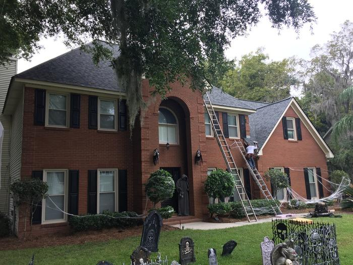 Roof Replacement from Storm Damage in Savannah, GA - After Photo