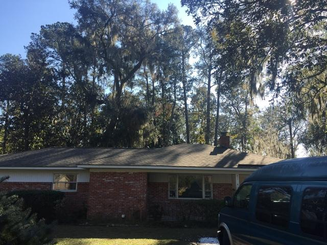 Roof Replacement Project in Savannah, Georgia