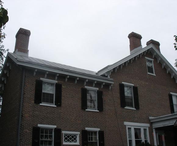 Standing Seam Metal Roof and Yankee Gutter Installation in Newark, DE - Before Photo