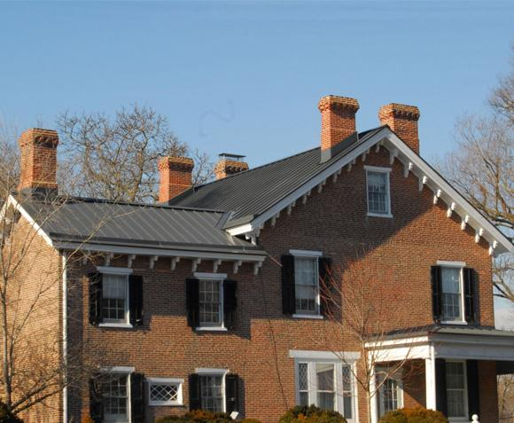 Standing Seam Metal Roof and Yankee Gutter Installation in Newark, DE - After Photo