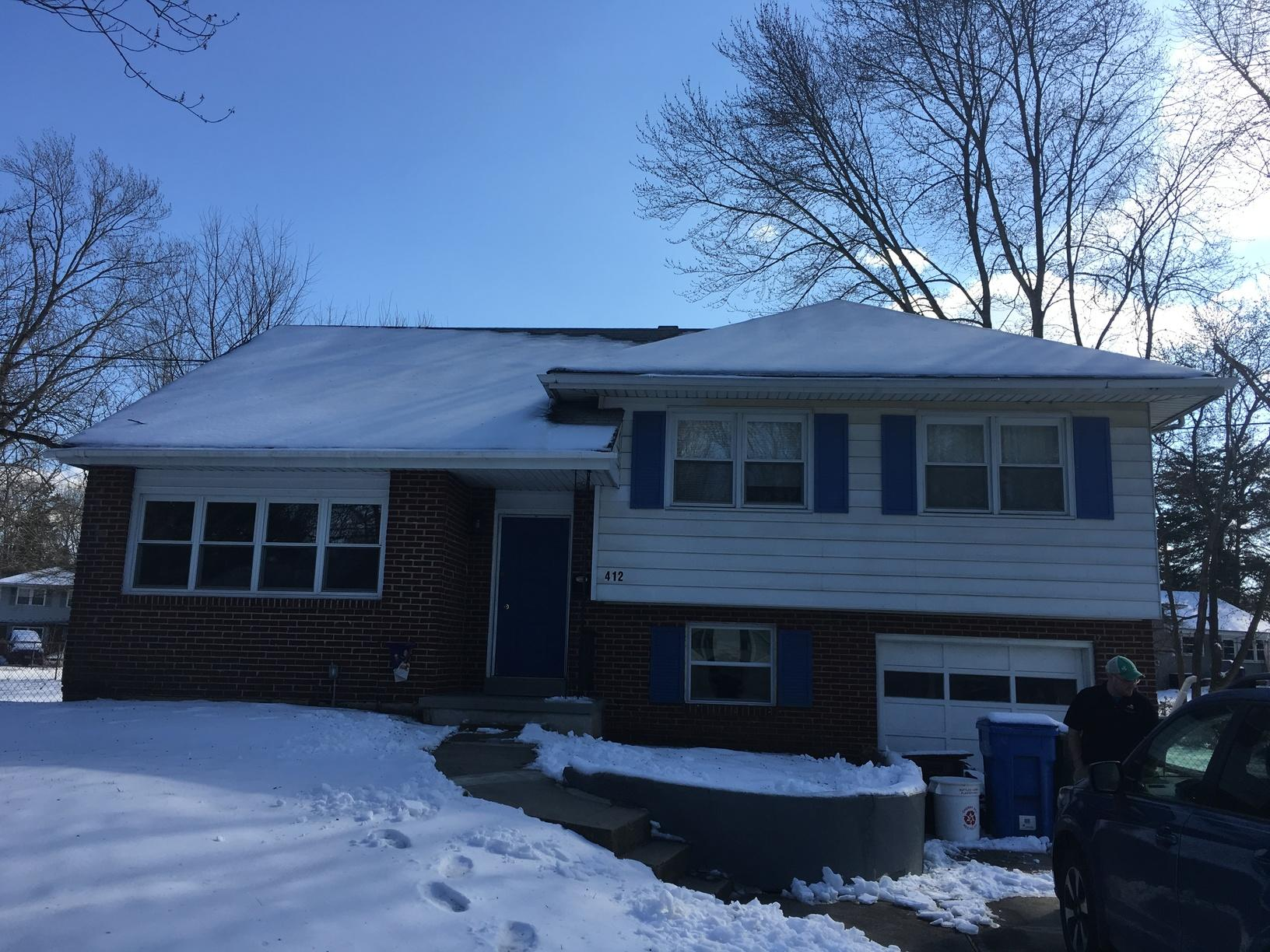 Standing Seam Metal Roof Installation in Cherry Hill, NJ - Before Photo