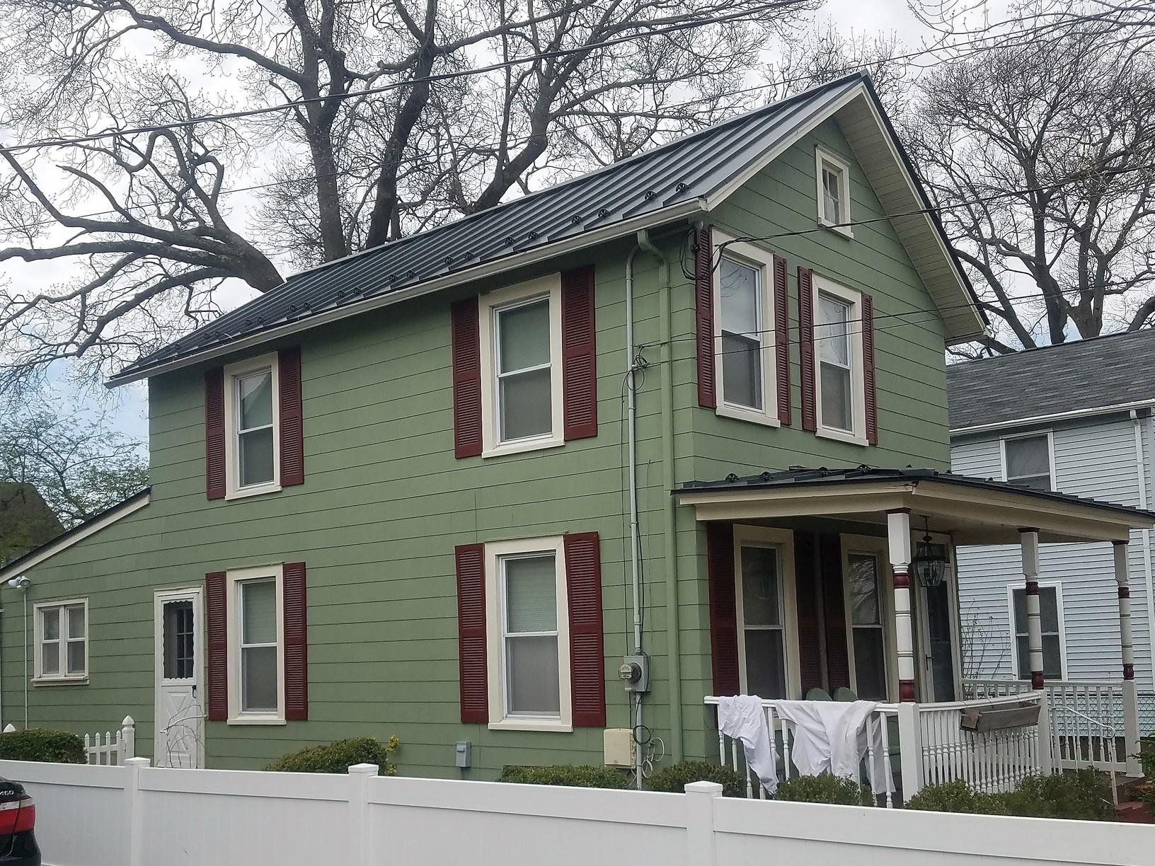 Standing Seam Metal Roofing Install in Red Bank, NJ - After Photo