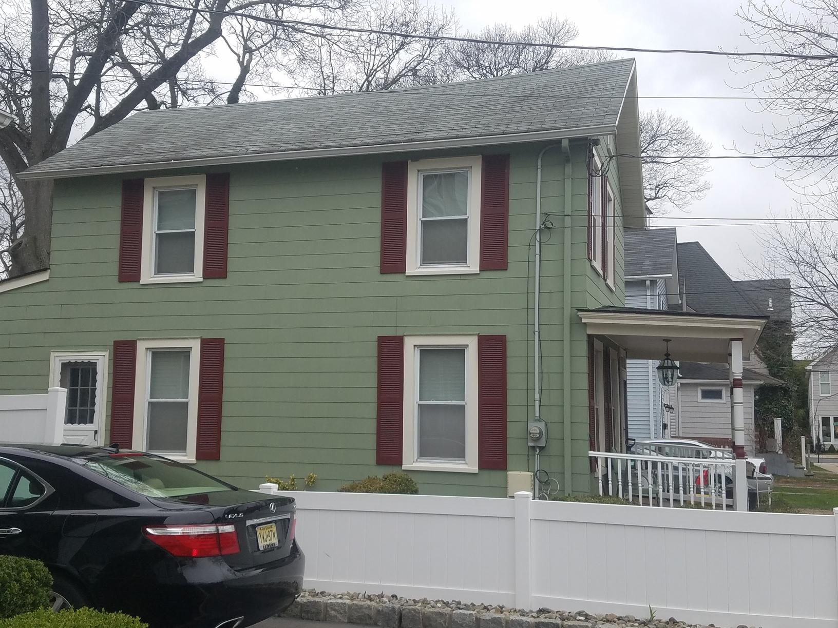 Standing Seam Metal Roofing Install in Red Bank, NJ - Before Photo