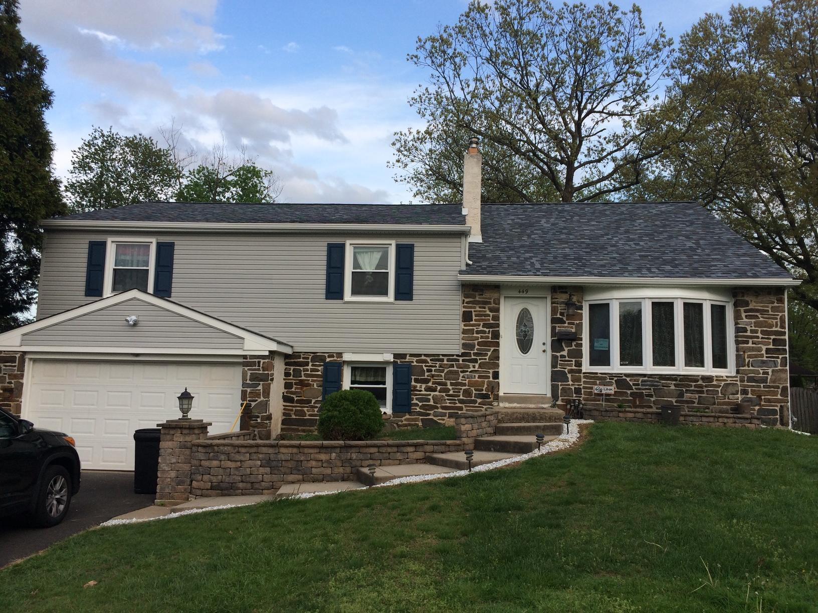 Owens Corning Roof and New Siding Installation in Warminster, PA - After Photo