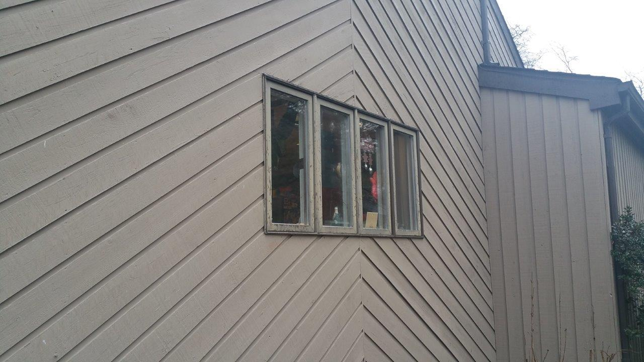 Marvin Fiberglass Window Installation in Morristown, NJ - Before Photo
