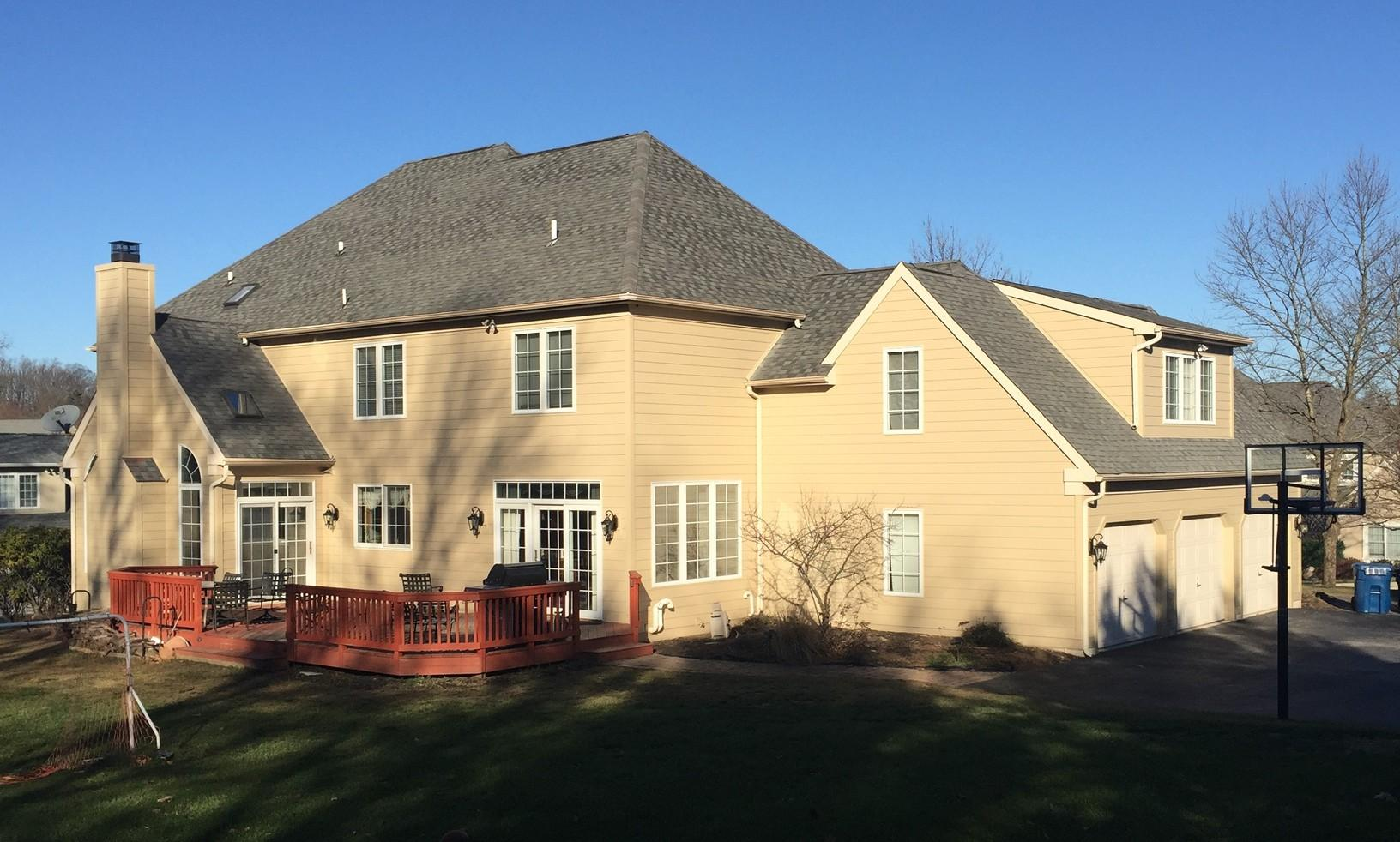 Stucco Remediation & James Hardie Siding Installation in Malvern, PA - After Photo