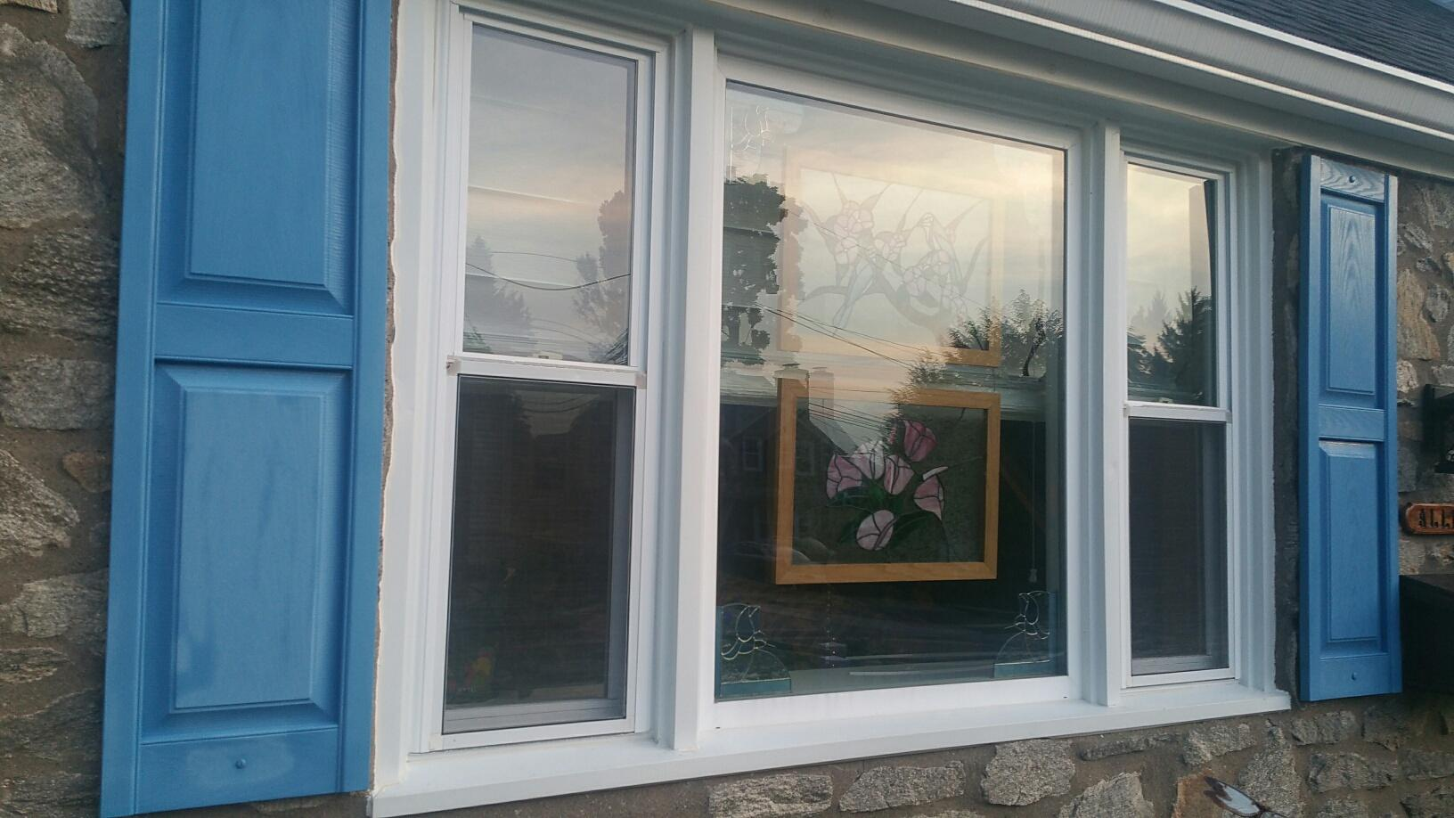 Marvin Infinity Window Installation in Springfield, PA - Before Photo