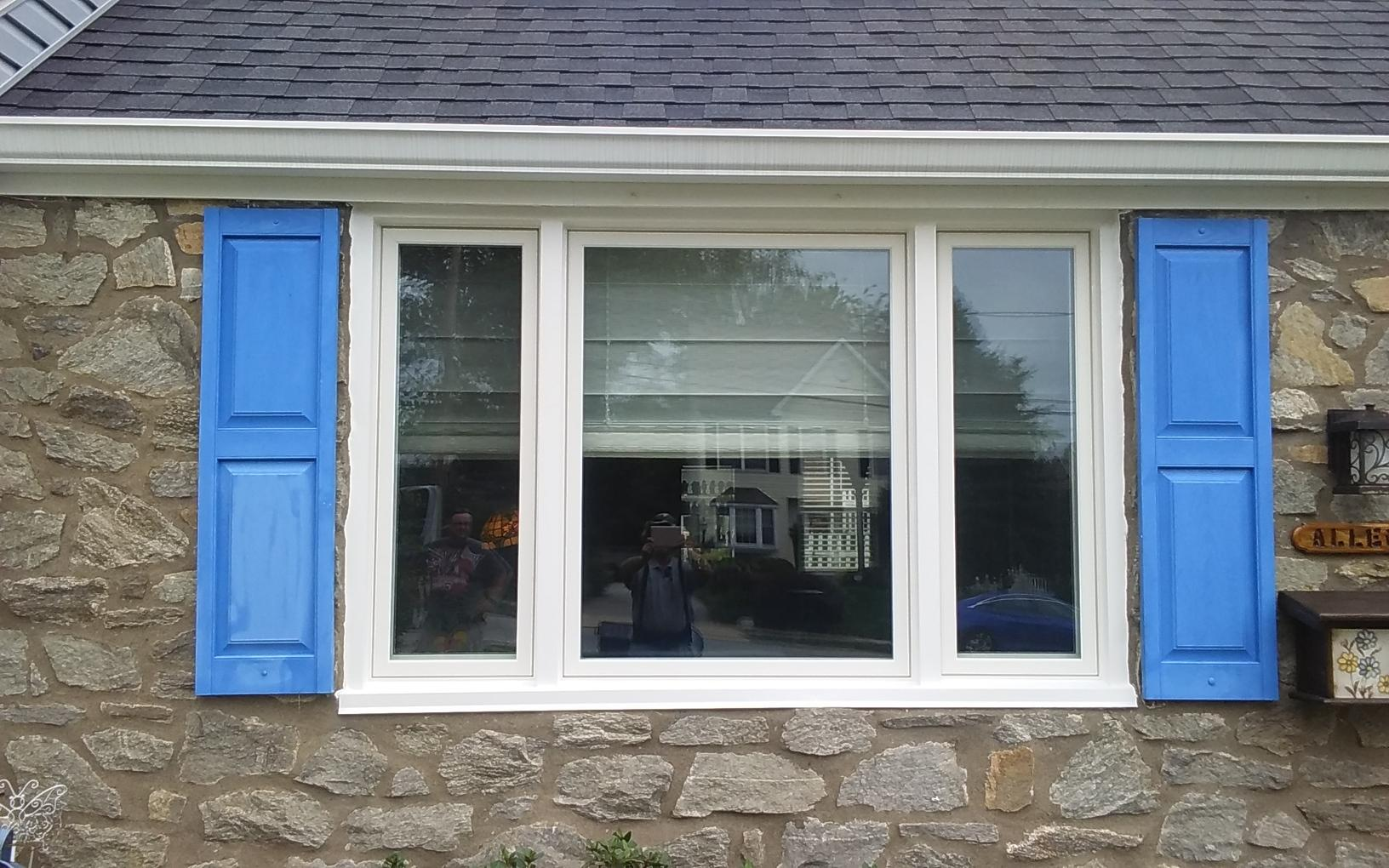 Marvin Infinity Window Installation in Springfield, PA - After Photo
