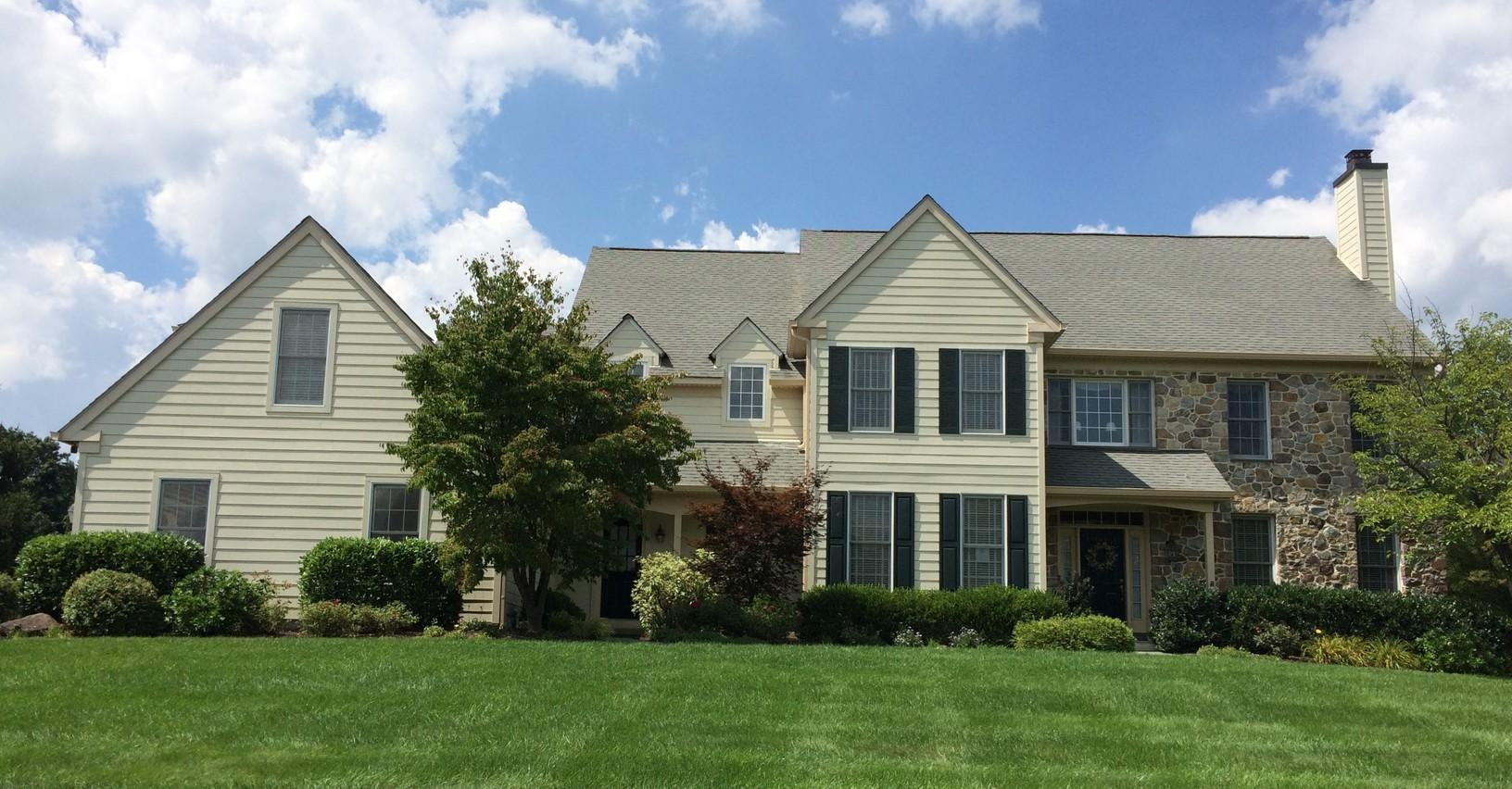 Stucco Remediation Project with James Hardie Siding in Malvern, PA - After Photo