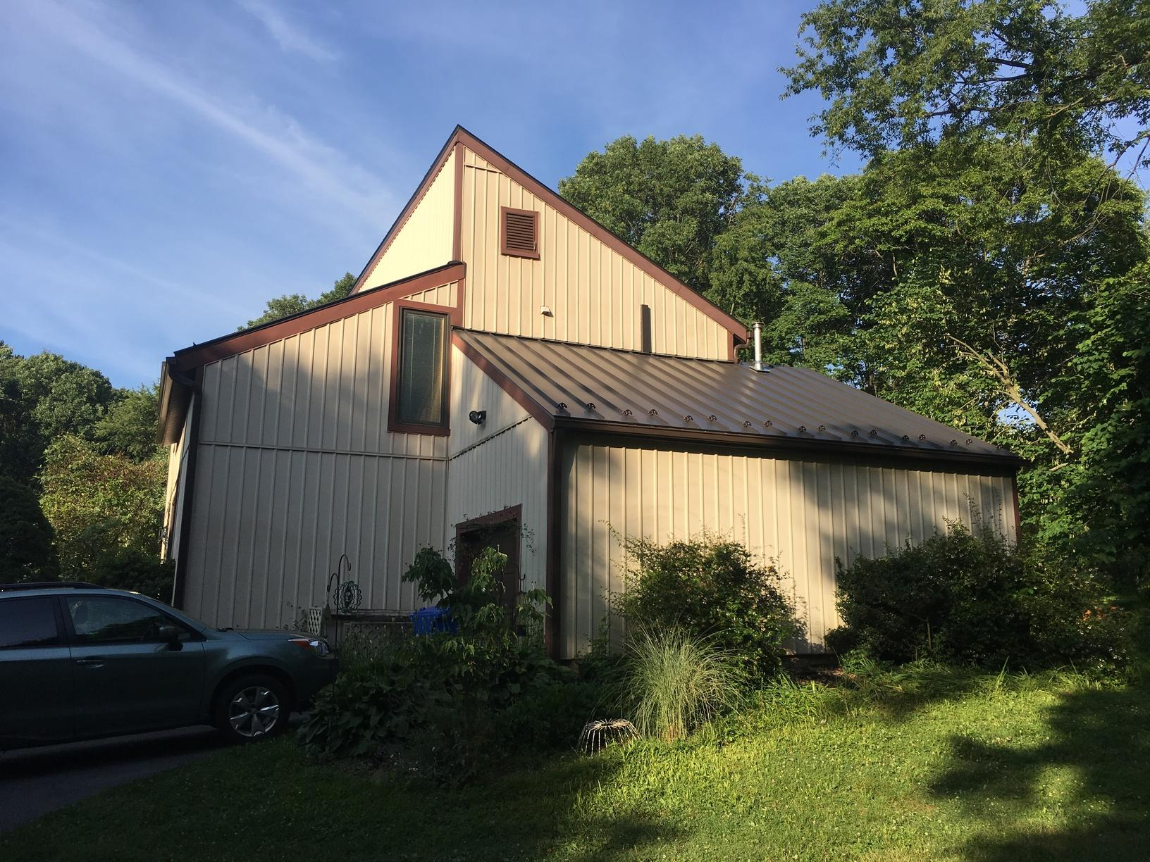 Standing Seam Metal Roof with Snow Rail in Glen Mills, PA - After Photo