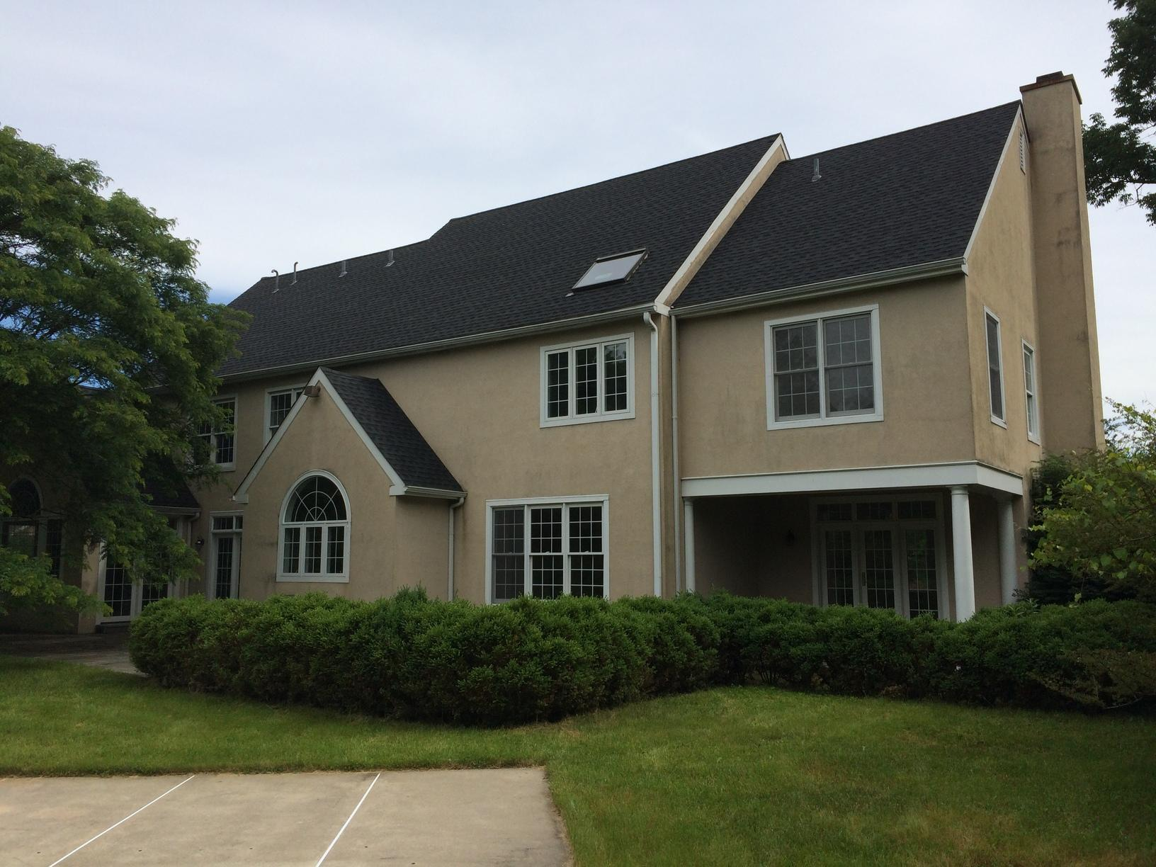James Hardie Fiber Cement Planks and Stucco Replacement in Phoenixville, PA - Before Photo