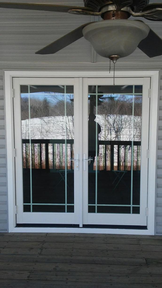 Marvin Integrity French Inswing Patio Door Installation in Wayne, PA - After Photo