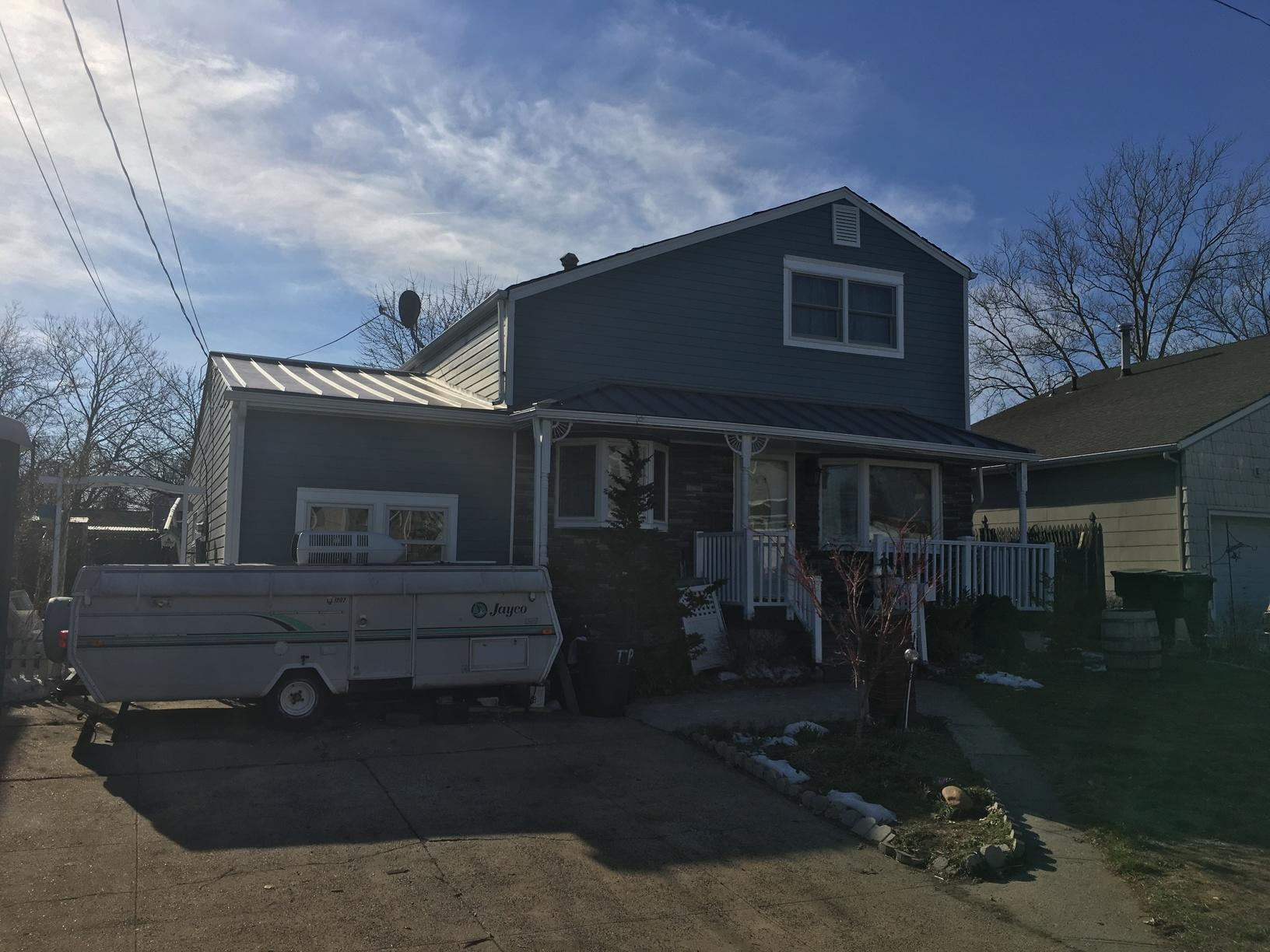 Charcoal Grey Drexel Standing Seam Metal Roof Installation in Parlin, NJ - After Photo