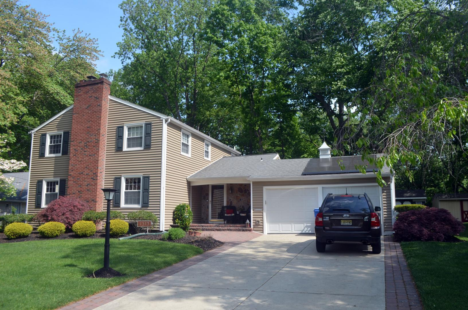 Tuscan Hill GlobalTech Plus Insulated Vinyl Siding Installation in Cherry Hill, NJ - After Photo