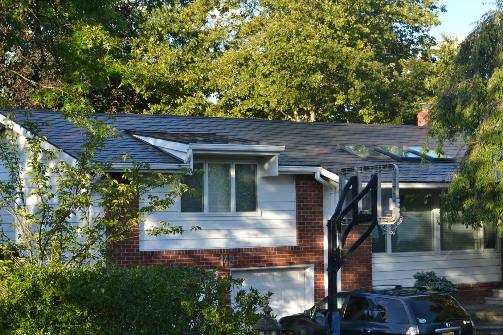 Brown Atas G-Tech Standing Seam and Metal Slate Roof Installation in Englewood Cliffs, NJ - After Photo