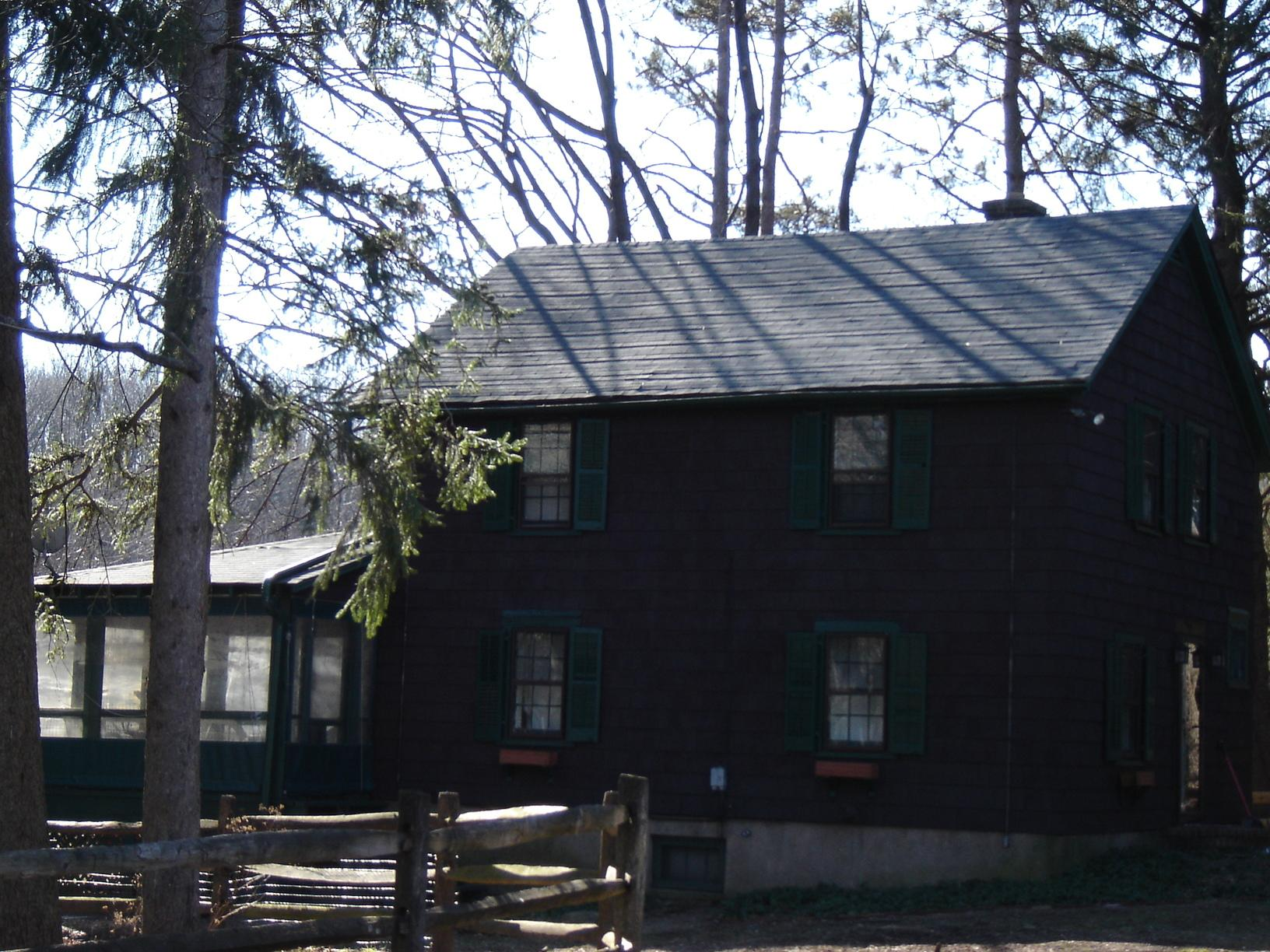 Replacing Asphalt Shingles with Matte Black Standing Seam Metal Roof on this Cottage Home in New Vernon, NJ - Before Photo