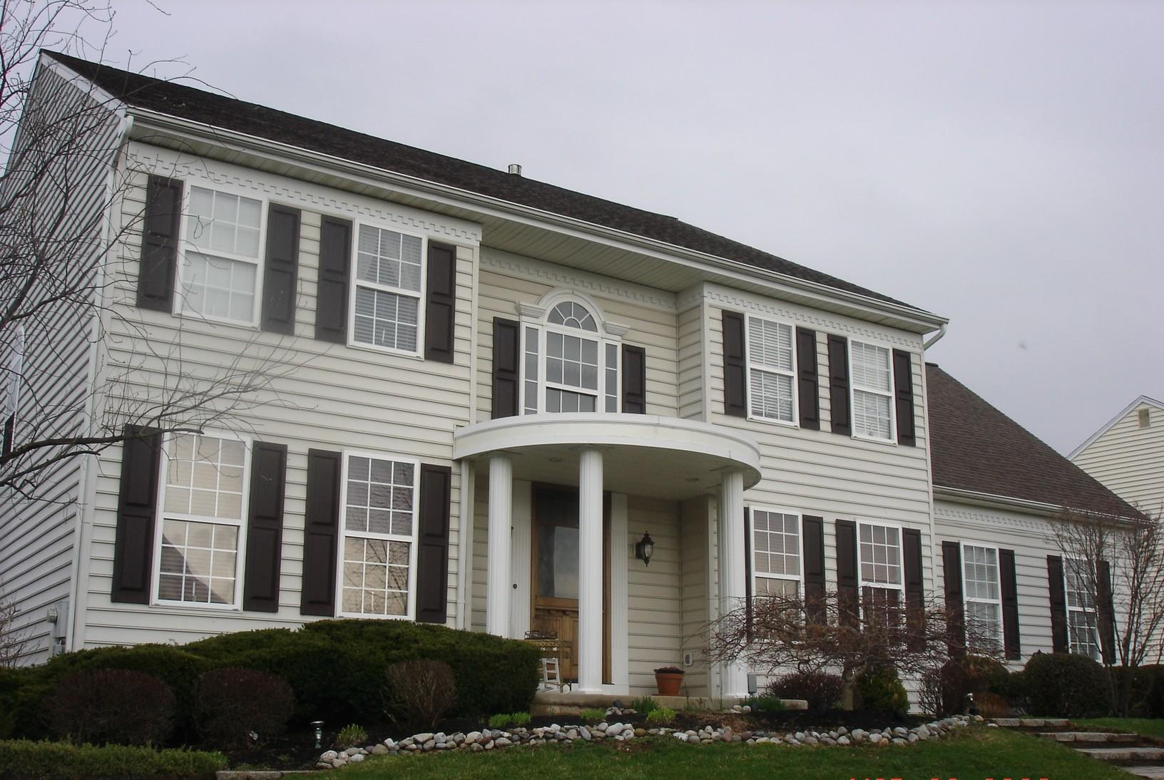 Replacing Original Asphalt Roof and Old Windows with Standing Seam Metal and Fiberglass in Collegeville, PA - Before Photo