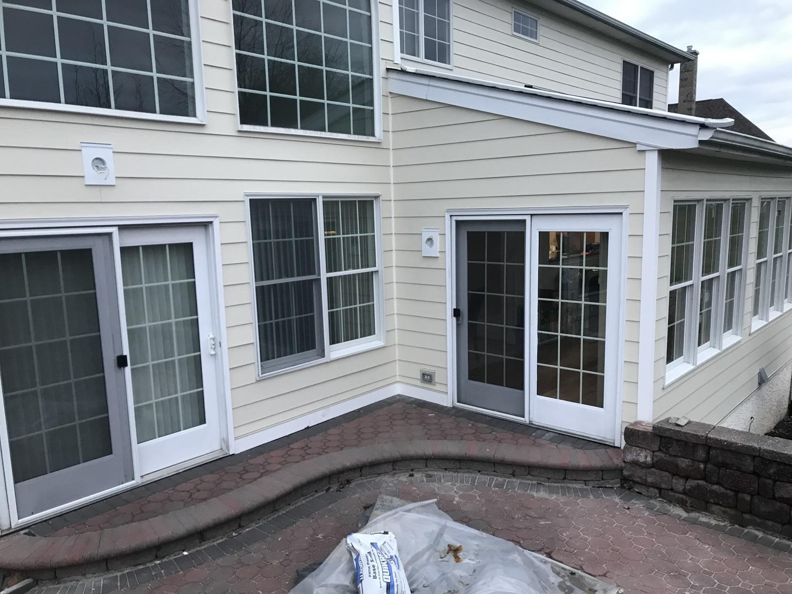 Replacing Outdated Stucco with Fiber Cement Planks in Hockessin, DE - After Photo