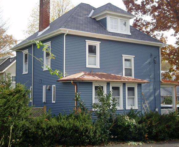 Copper Roof Installation on Historic Home in Newtown, PA