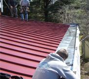 Standing Seam Metal Roof and Stainless Steel Yankee Gutter in Flourtown, PA