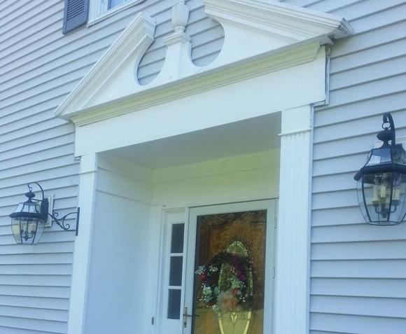 Portico Extension in Long Valley, NJ