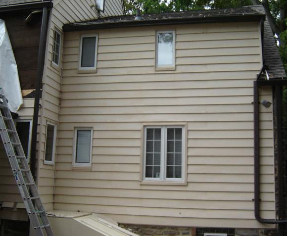New siding installation in Penn Valley, PA