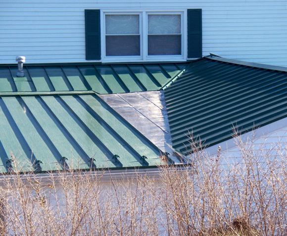 Mechanically Seamed Metal Roof Installation in Blue Bell, PA