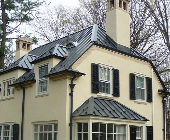 Metal Standing Seam Roof Installation in Villanova, PA