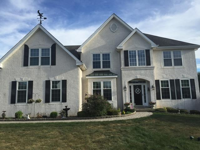 Stucco Transformation with Provia Stone Siding in Phoenixville, PA
