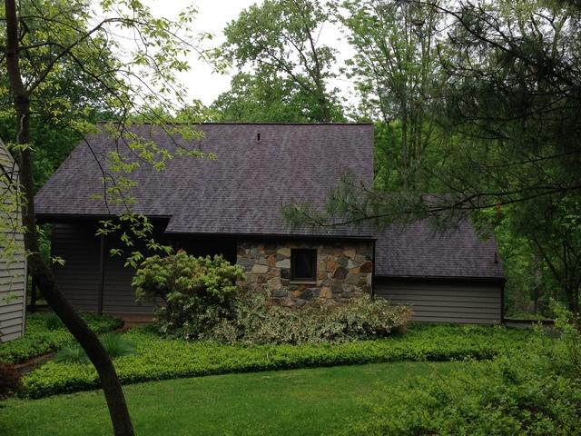 Metal Roof Replacement in Chadds Ford, PA - Before Photo