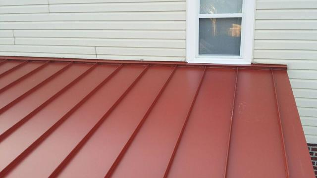 Metal Roofing Installation on Flat Pitched Roof in Havertown, PA