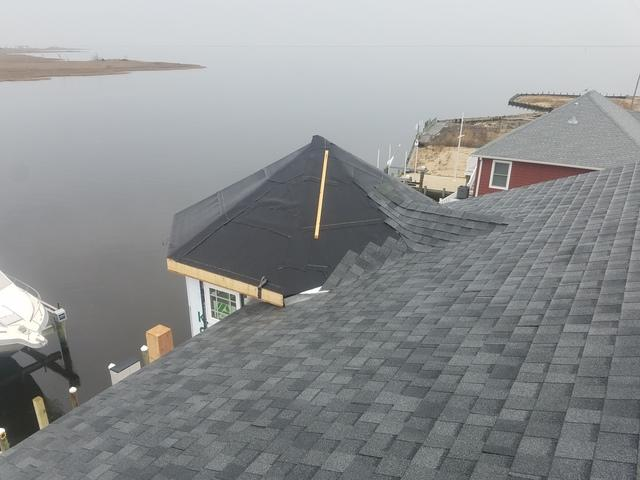 Standing Seam Metal Roof Turret Installation in Forked River, NJ