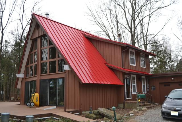 Standing Seam Metal Roof Installation in Freehold, NJ