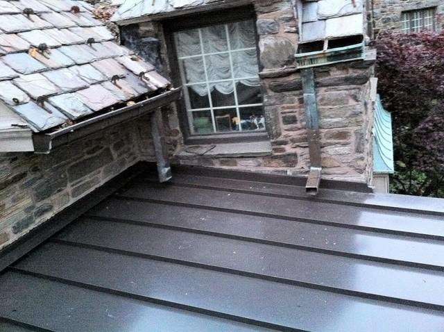 Low Sloping Metal Roof in Gladwyne, PA