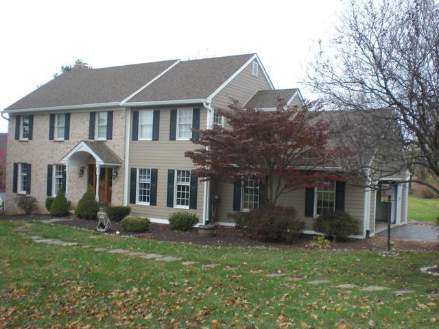 James Hardie Siding and Seamless Gutter Install in Downingtown, PA