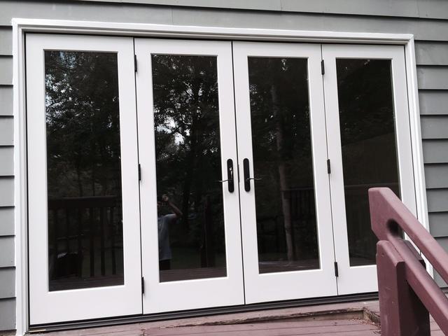 4 Panel Marvin French Door Installation in Medford, NJ