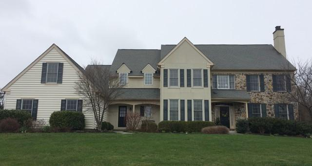 Stucco Remediation Project with James Hardie Siding in Malvern, PA