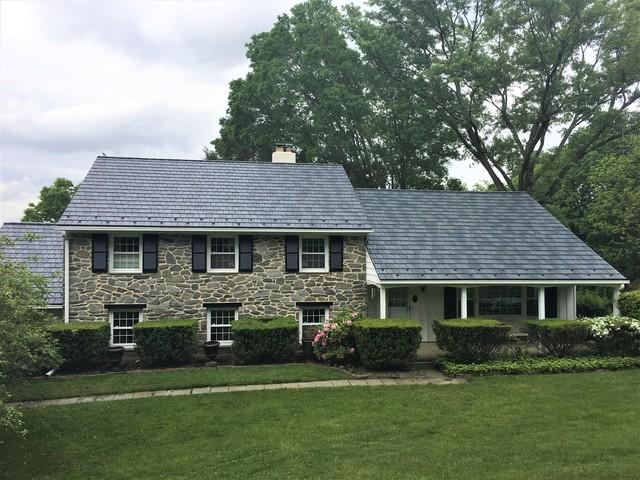 Metal Slate Roof Installation in Media, PA