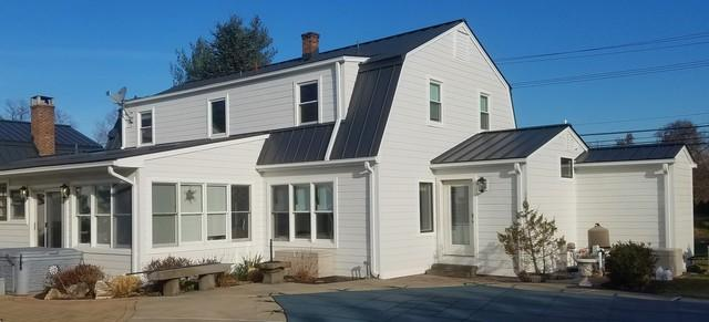 James Hardie Fiber cement Siding and Standing Seam Metal Roof Installation in Franklin Lakes, NJ