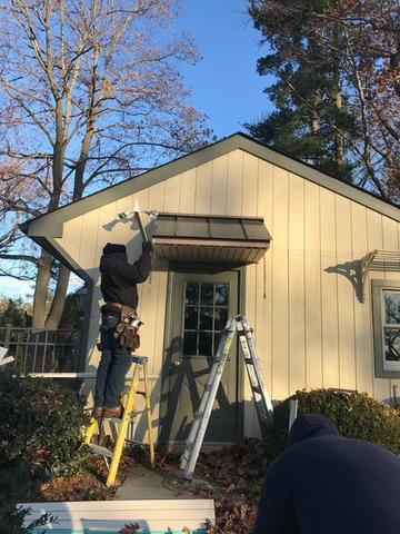 James Hardie Fiber Cement Plank and ProVia Door Installation in Rydal, PA