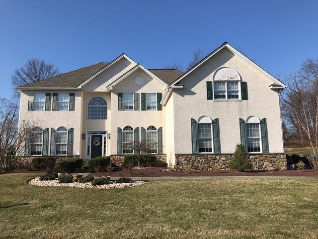 James Hardie Fiber Cement Plank, ProVia Stone, and New Shutter Installation in Newtown, PA