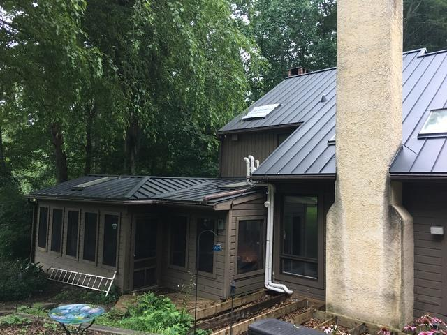 Custom Standing Seam Metal Roof Installation in West Chester, PA