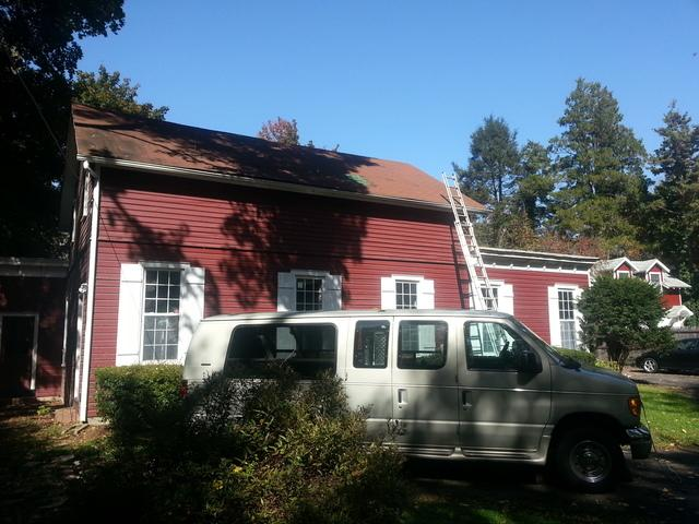 Metallic Copper Drexel G-Tech Standing Seam Metal Roof and Cupola Installation in Wyckoff, NJ