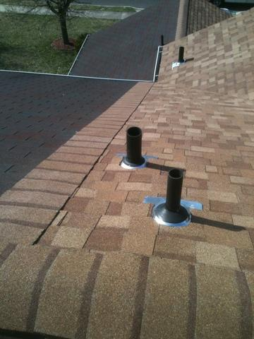 Shingles with Deck Armor and Storm Guard Installed in Westampton, NJ