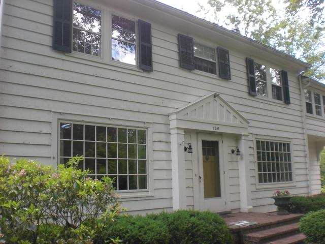 Fiber Cement Plank, Metal Roof, and Vinyl Windows with Interior Grilles Installed in Bound Brook, NJ