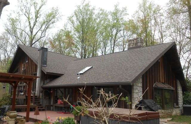 Owens Corning Driftwood Duration Single Roof with Custom Flashing Installed on Home with Skylights in Downingtown, PA