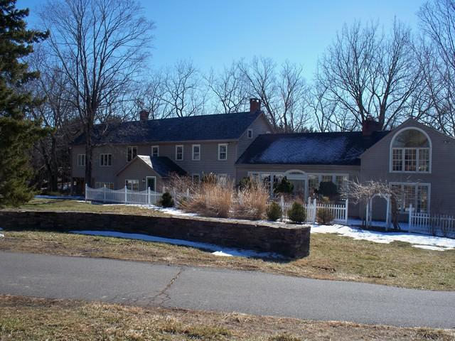 Advanta Char Brown Metal Shingle with Snow Guards Installed in Frenchtown, NJ